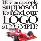 Target Motorsports Vintage Advertisement