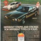 Vintage Plymouth Arrow Magazine Advertisement