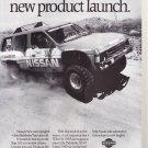 Vintage Nissan Magazine Advertisement