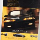 Vintage Oldsmobile Intrigue Magazine Advertisement