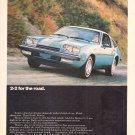 Chevrolet Monza Vintage Magazine Advertisement