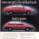 Hyundai Magazine Advertisement Excel