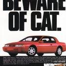 Mercury Cougar vintage magazine advertisement