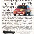 Suzuki Swift GT Vintage Magazine Advertisement