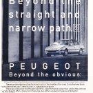 Peugeot 405 vintage magazine advertisement