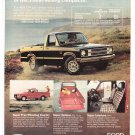 Ford Courier Vintage Magazine Advertising