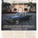 Jaguar XJ's Vintage Magazine Advertising