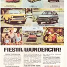 Ford Fiesta Vintage Magazine Advertisement