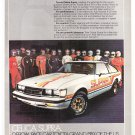 Celica Supra Vintage Magazine Advertisement