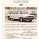 Audi 4000 Vintage Magazine Advertisement