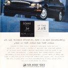 Acura RL Vintage Car Magazine Advertisement