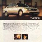 Toyota Corolla Vintage Magazine Advertisement
