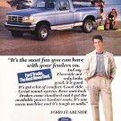 Ford Trucks Vintage Magazine Advertisement