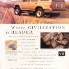 Toyota 4 Runner Advertisement Vintage Magazine AD