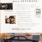 Toyota Camry Coupe Advertisement Vintage Magazine AD