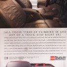 GMC Jimmy Truck Advertisement Vintage Magazine AD
