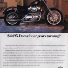 Harley Davidson Advertisement Vintage Magazine AD