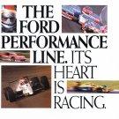 Ford Performance Line Advertisement Vintage Magazine AD