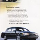 Lincoln Advertisement Vintage Magazine AD