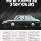 Saab 900 Vintage Ad Magazine Advertisement