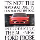 Ford Probe Advertisement vintage magazine ad