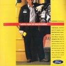 Quality is job 1. Ford Magazine Advertisement