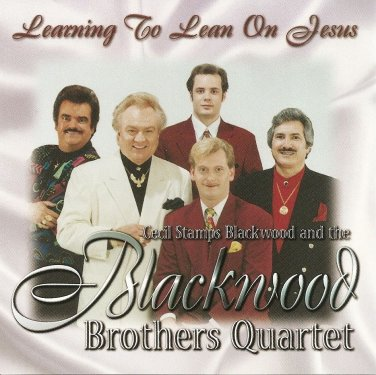 Learning To Lean On Jesus cassette -Blackwood Brothers