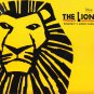 The Lion King Broadway's Award-Winning Best Musical Souvenir Brochure