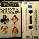 21 ROCK 'N' ROLL HITS cassette