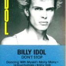 Don't Stop Billy Idol  Audio Cassette
