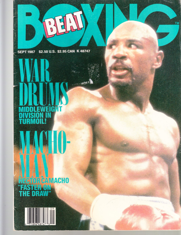 SEPT 1987 BOXING BEAT boxing magazine HECTOR CAMACHO vintage