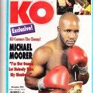KO The Knockout Boxing Magazine November 1994 vintage