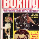 September 1973 Vintage Victory Sports Series World Boxing Magazine- Ali/Frazier