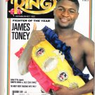 THE RING BOXING MAGAZINE, MAY 1992 James Toney