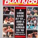 BOXING 88 boxing magazine LEONARD - HAGLER - SPINKS March 1988