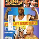 The Ring Magazine Mike Tyson Stone Cold May 1998