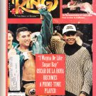 RING MAGAZINE July 1994 SUGAR RAY /OSCAR DE LA HOYA cover