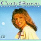 Greatest Hits Live Live Carly Simon  Audio Cassette