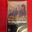Long May You Run Neil Young Stephen Stills Stills-Young Band  Cassette