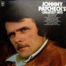 Greatest Hits Johnny Paycheck cassette