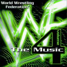 WWF the Music Vol. 4  by World Wrestling Federation cassette
