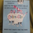WAIT' TIL THE SUN SHINES NELLIE COLOR-GLO NIGHT-OUT sheet music