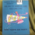 HAIL HAIL THE GANG'S ALL HERE-AULD LANG SYNE SHEET MUSIC COLOR GLO
