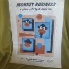 Monkey Business sheet music - piano sheet music