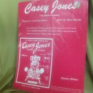 Sheet Music for Casey Jones