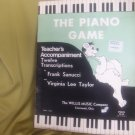 The Piano Game - 12 Transcriptions (Mid-Elementary Level). Composed by Frank Sanucci