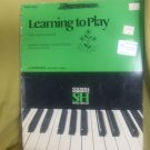 Learning to play the young pianist