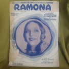 Ramona sheet music