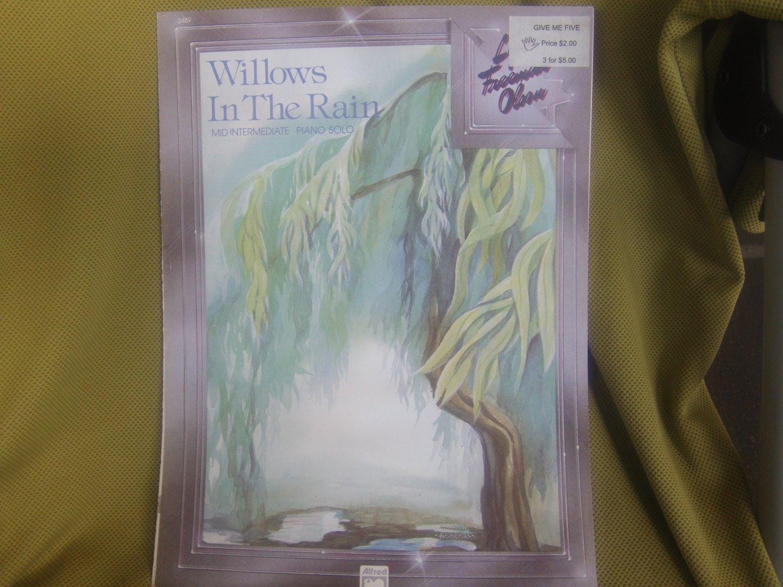 Willows In The Rain Piano Solo (Mid Intermediate)