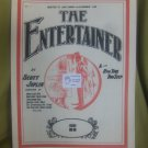 The Entertainer sheet music composed by Scott Joplin arranged for Piano